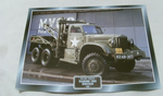 Diamond T969 Wrecker WW2 us army 1942 Truck framed picture